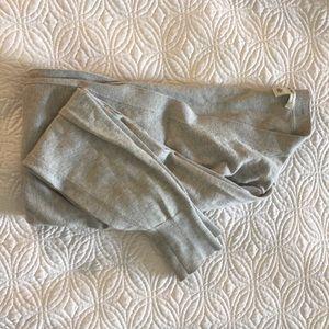 Banana Republic grey v-neck cardigan